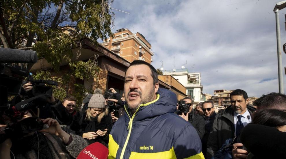 Италия разследва за незаконно финансиране на крайнодясната партия...
