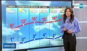 Прогноза за времето (03.03.2019 - обедна емисия)