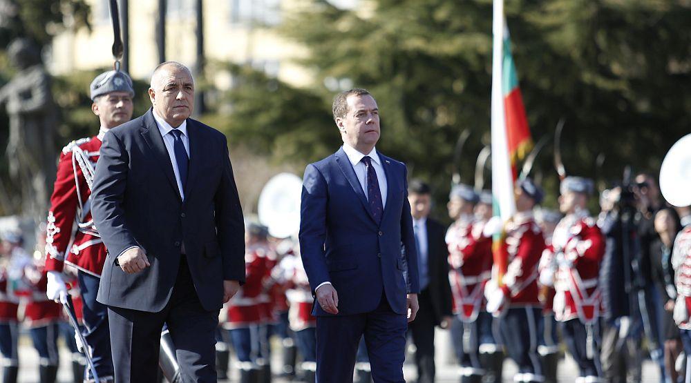 Дмитрий Медведев у нас
