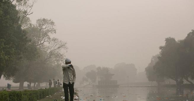 Снимка: В Делхи дишат най-мръсния въздух в света