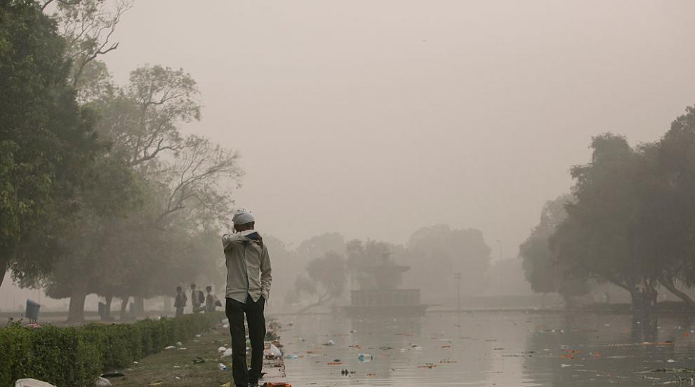 В Делхи дишат най-мръсния въздух в света