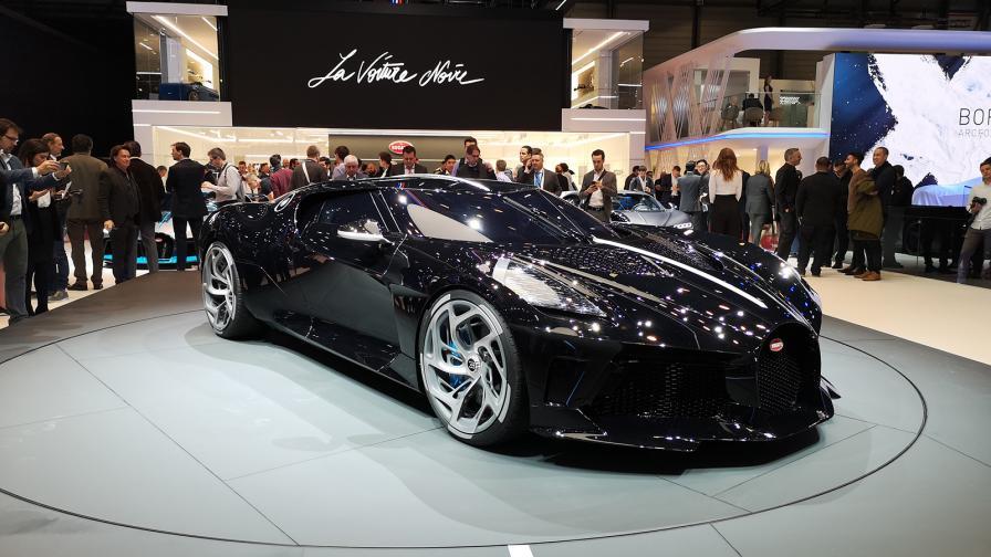 Това е най-скъпият нов автомобил в света. Цената е 16,5 млн. евро