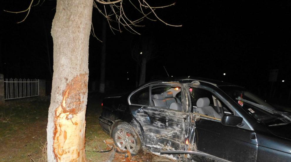 Три момчета пострадаха тежко при катастрофа, преди това безчинствали в...
