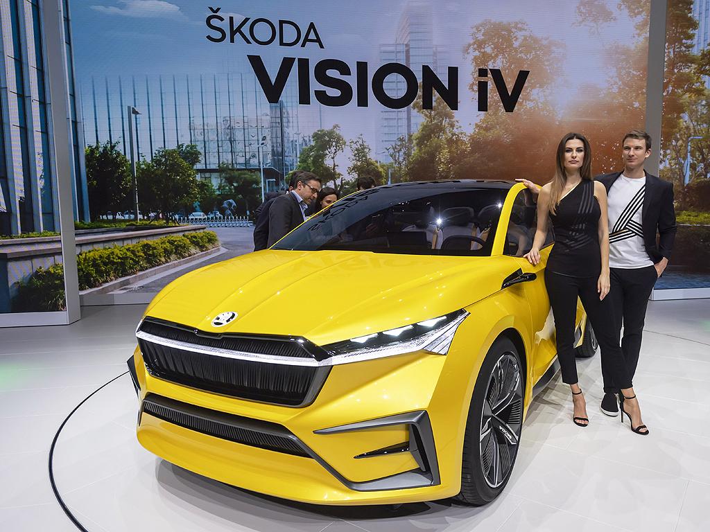 Skoda Showcar Vision iV