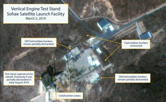 Северна Корея се готви да изстреля нова ракета