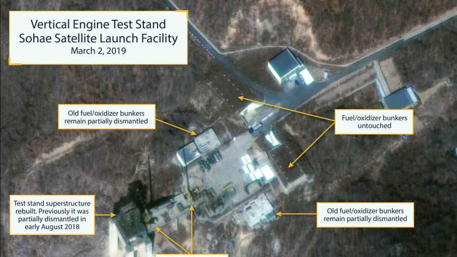 <p>Северна Корея се готви да изстреля нова ракета</p>