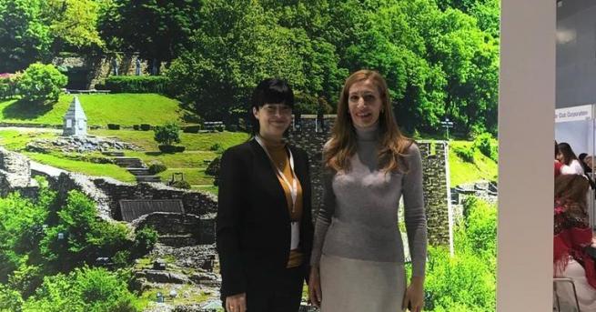 Министър Николина Ангелкова се срещна в Москва с Майя Ломидзе,