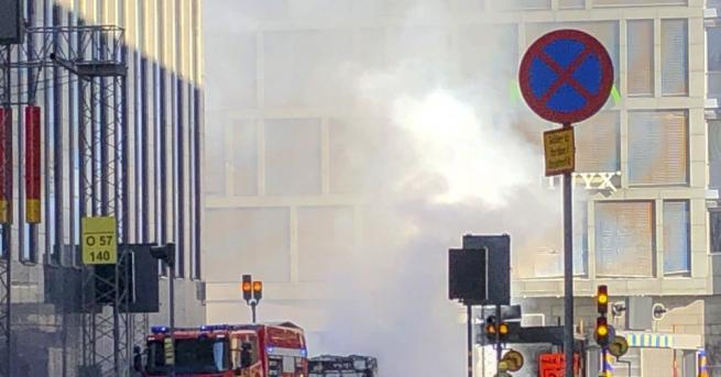 Мощна експлозия разтърси центъра на Стокхолм. Причина за инцидента е