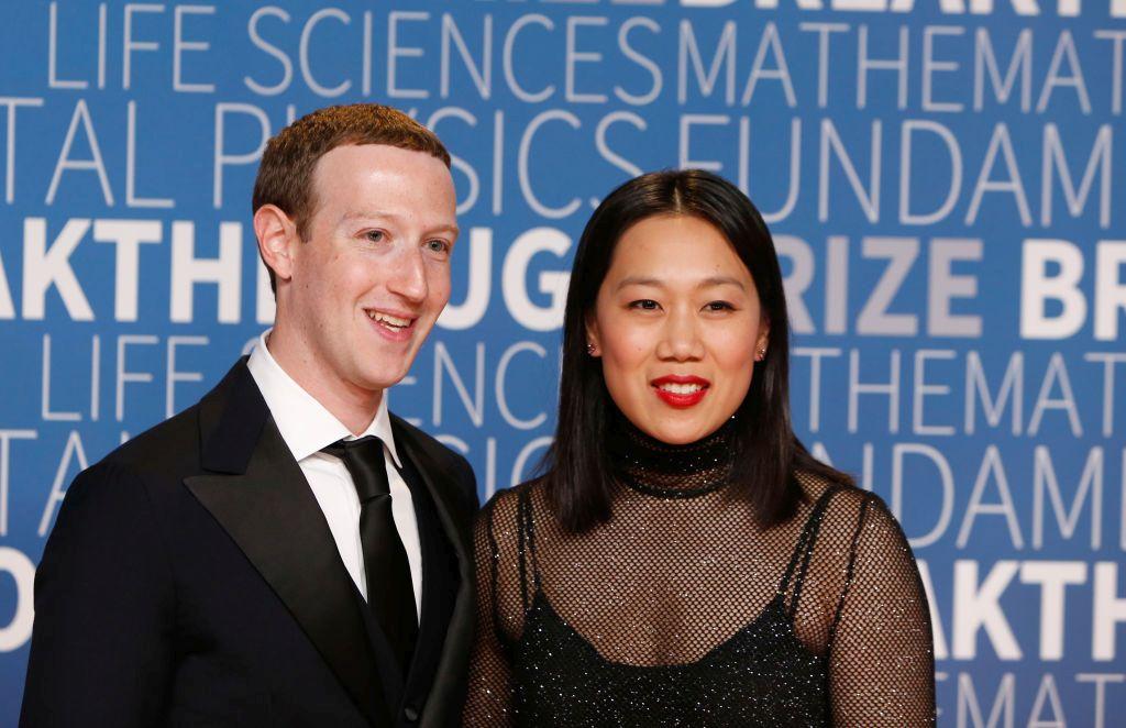Състоянието на основателя на Facebook Марк Зукърбърг се оценява на 62.3 млрд. долара. Той се запознава с Присила като студент в Харвард.
