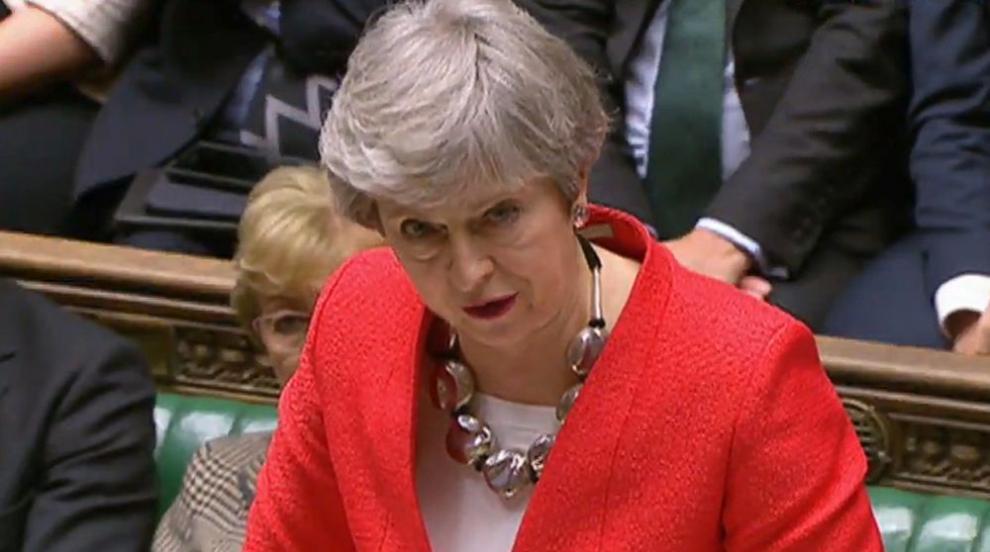 Британският парламент отхвърли Брекзит