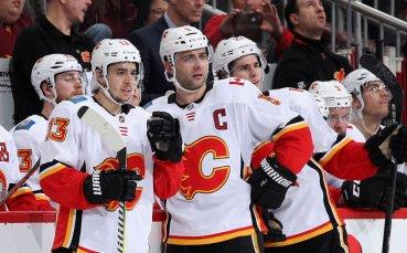 Калгари се класира за плейофите в НХЛ