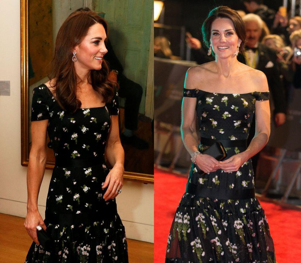 Една рокля, две визии, две години разлика