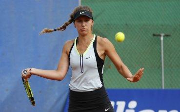 Гергана Топалова отпадна на 1/4-финалите от турнира на двойки в Анталия