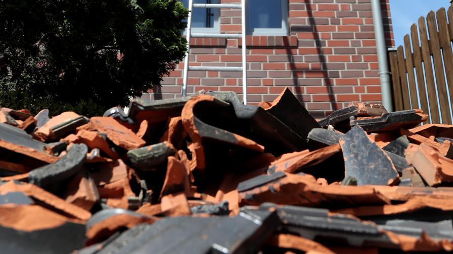 <p>Страшно торнадо удари град в Германия</p>