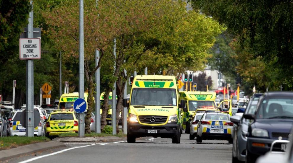 Расте броят на жертвите при стрелбата в две джамии в Нова Зеландия