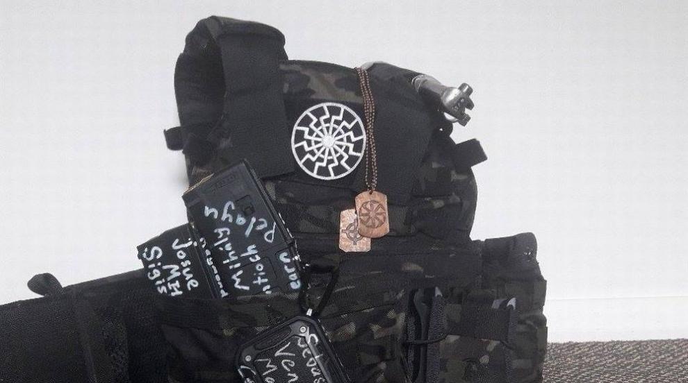 Надписи на български и сръбски върху оръжията на терориста от Нова...