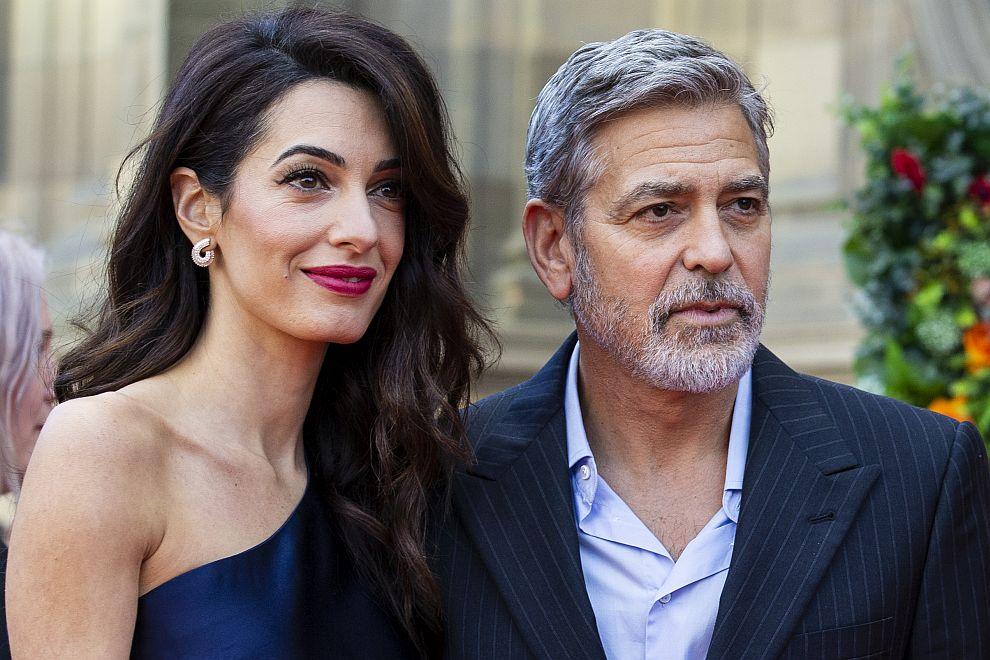 Джордж и Амал Клуни в Единбург