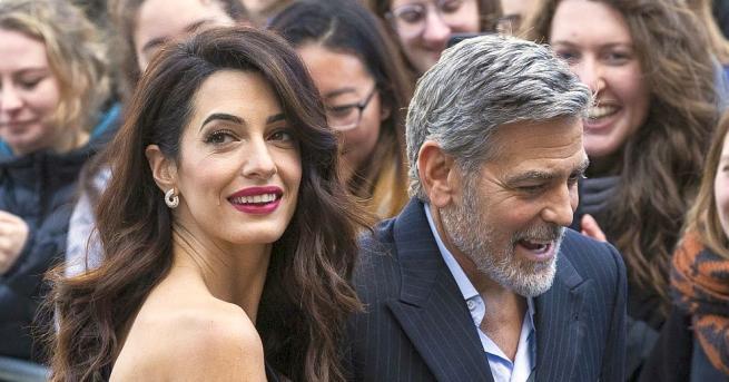 Популярната звездна двойка Джордж и Амал Клуни ще използва своето