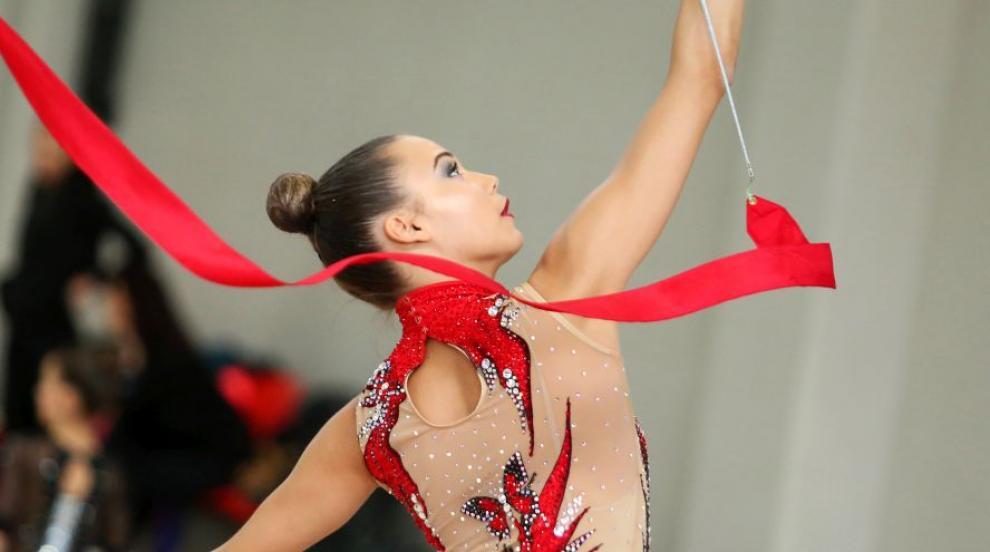 Катрин Тасева със сребърен медал на многобоя, ансамбълът шести във финала...