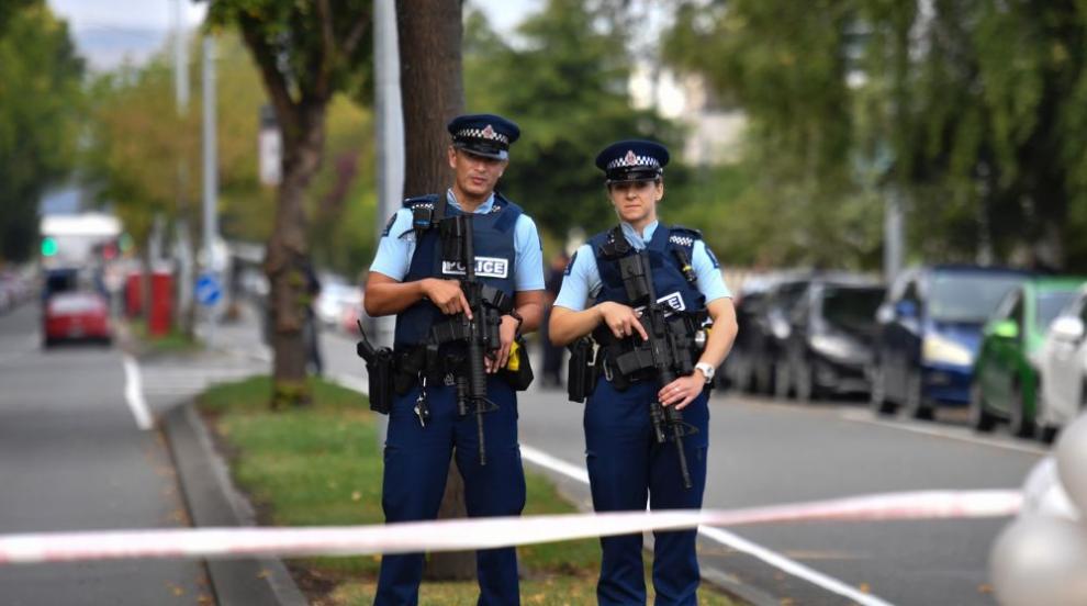 Нападателят от Крайстчърч е обвинен в тероризъм