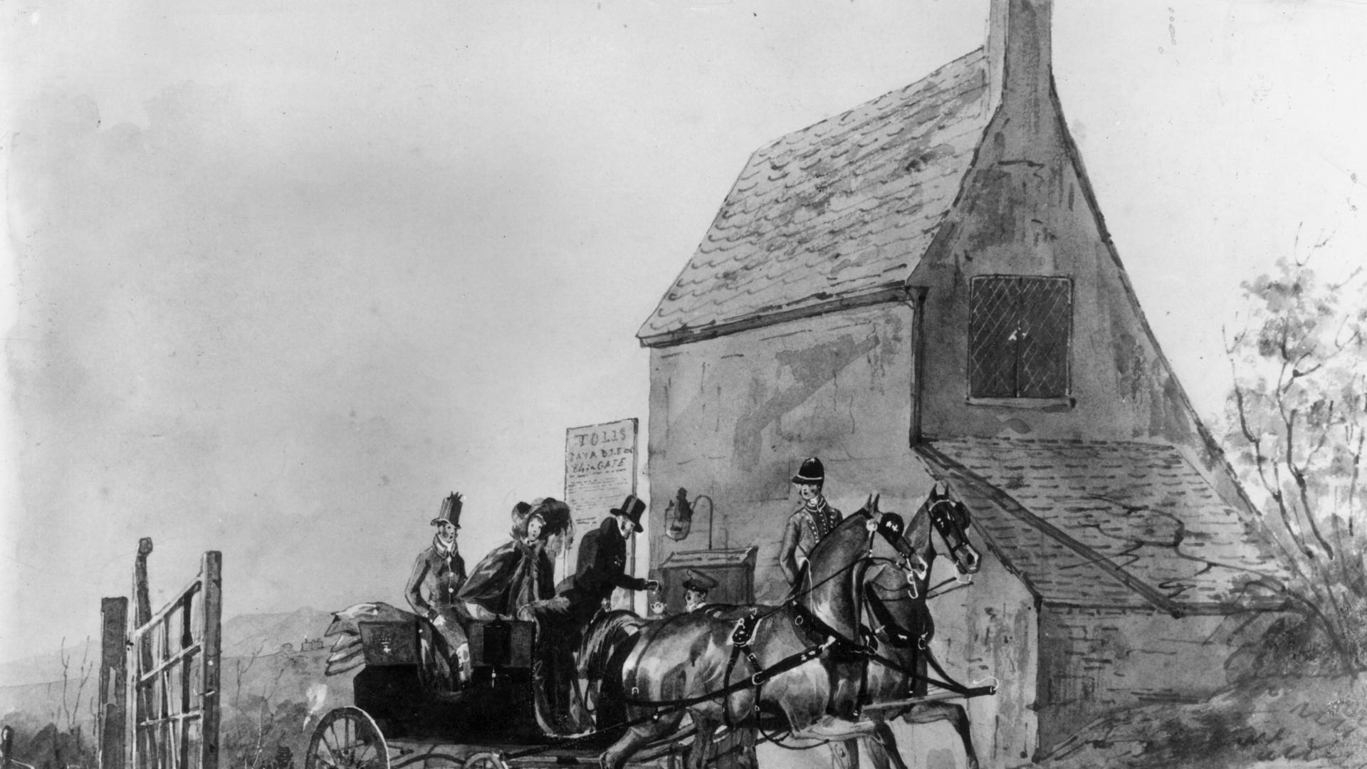 Каретите са били първият обществен транспорт