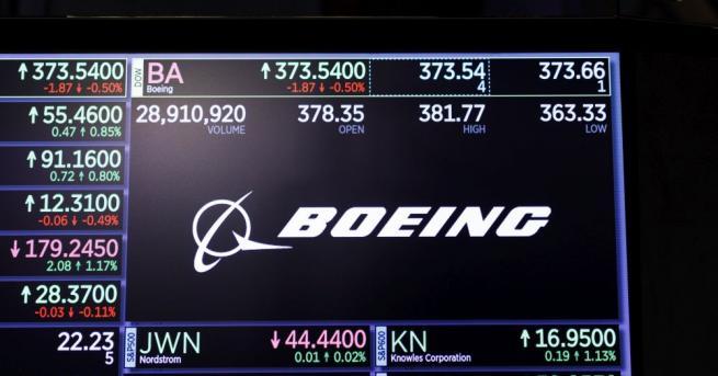 Боинг (Boeing) работи, за да гарантира безопасността на своите самолети