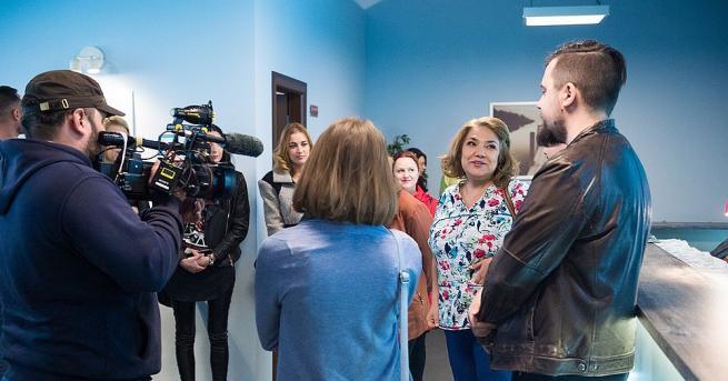 Премиерът Бойко Борисов посети снимачната площадка на хитовия сериал на
