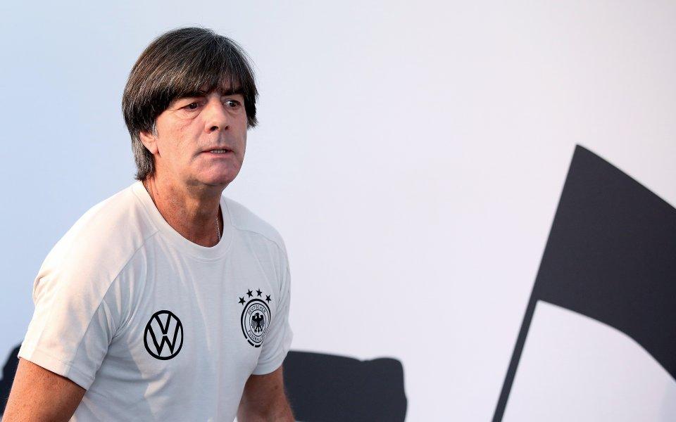 Йоаким Льов обеща млад и агресивен национален тим на Германия
