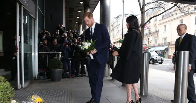Херцозите на Съсекс - принц Хари и Меган Маркъл, отдадоха