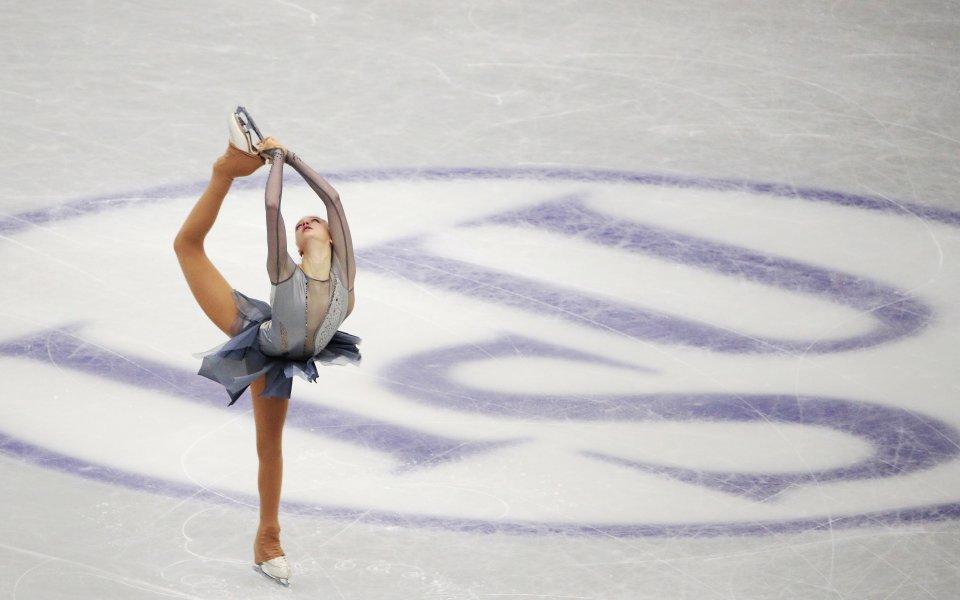 """Александра Фейгин от клуб """"Танци на лед Денкова-Стависки"""" спечели кратката"""