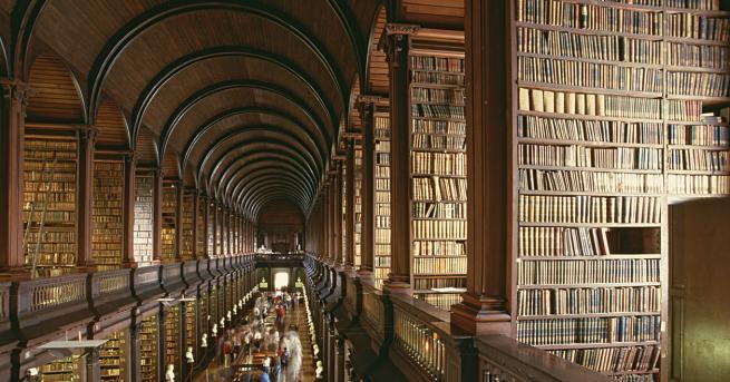 Едни от най-магичните места в света са библиотеките. Наличието на