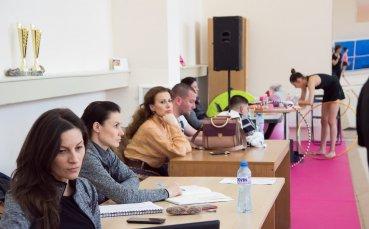 Илиана Раева посети последната тренировка на грациите в зала