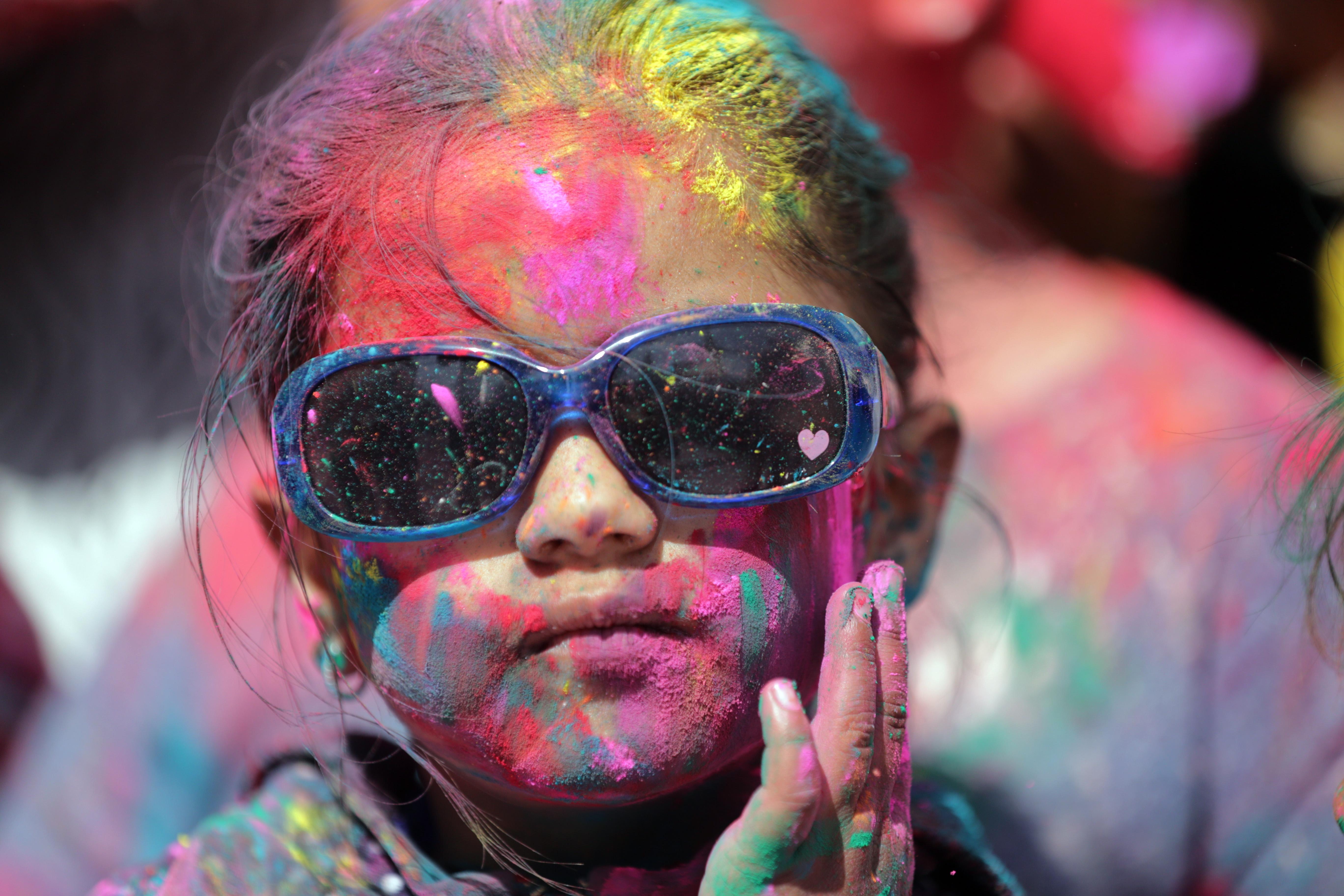 Празникът Холи, който се провежда от векове в цяла Индия