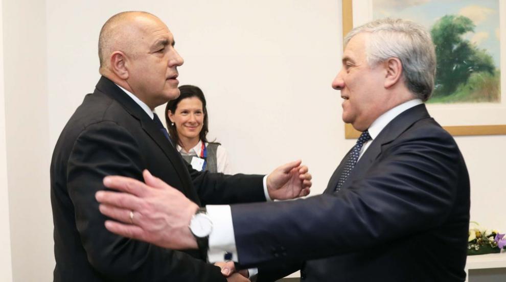 """Борисов обсъди с председателя на ЕП пакета """"Мобилност"""""""