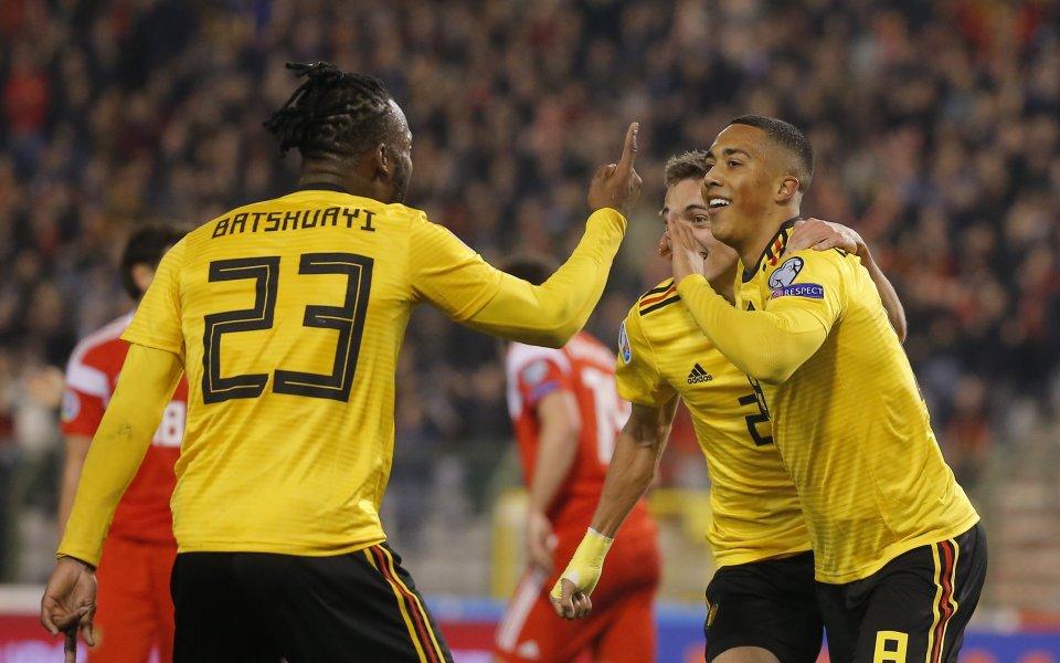 Белгия очаква глоба от УЕФА заради гафа, който защитник на