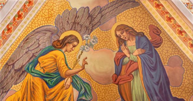На 25 март православната църква чества Благовещение. Той е един