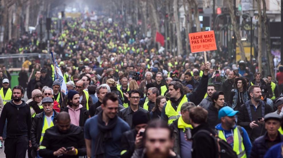 Нова протестна събота във Франция (СНИМКИ)