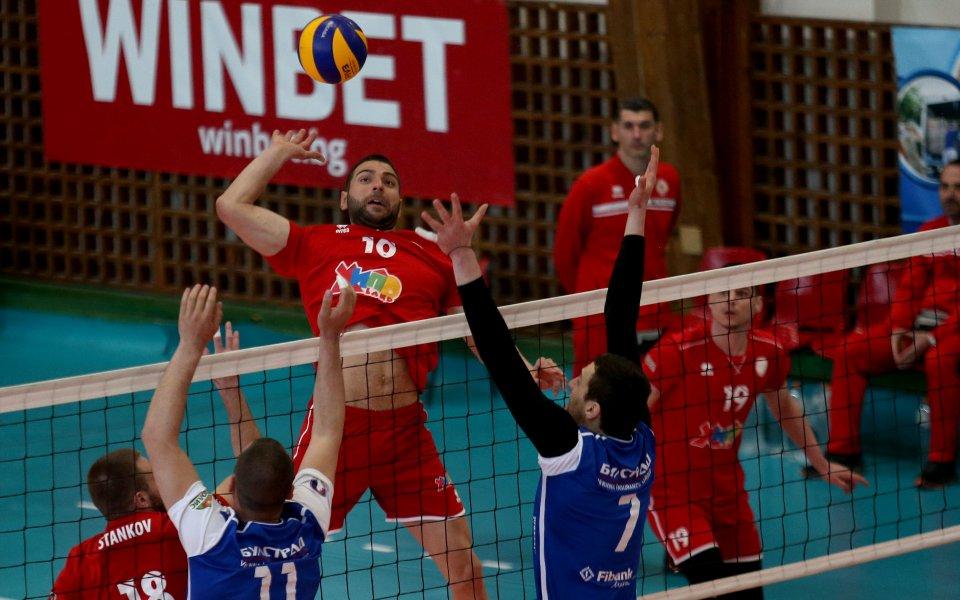 ВК ЦСКА се класира за полуфиналите на Суперлига