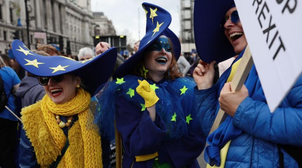 1 млн. души протестираха за втори референдум за Брекзит
