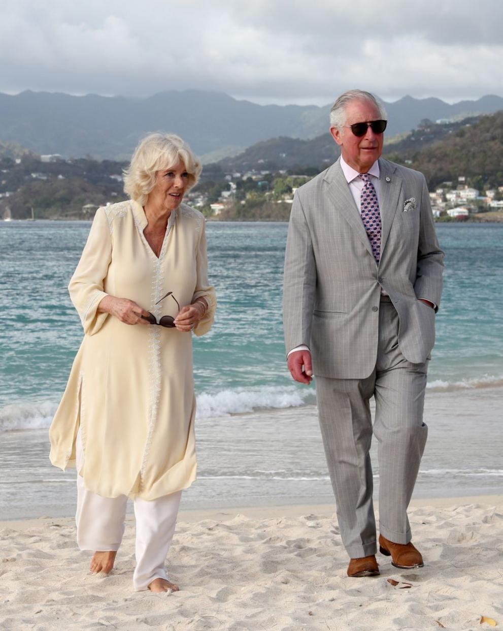 Принц Чарлз и съпругата му Камила
