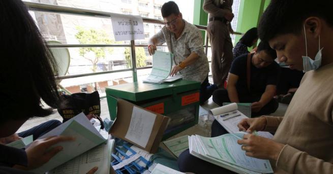 Изборите в Тайланд приключиха. Екзитпол прогнозира най-много места за опозиционната