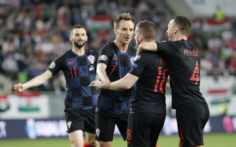 Хърватия попиля от бой Словакия и се заяви за Евро 2020