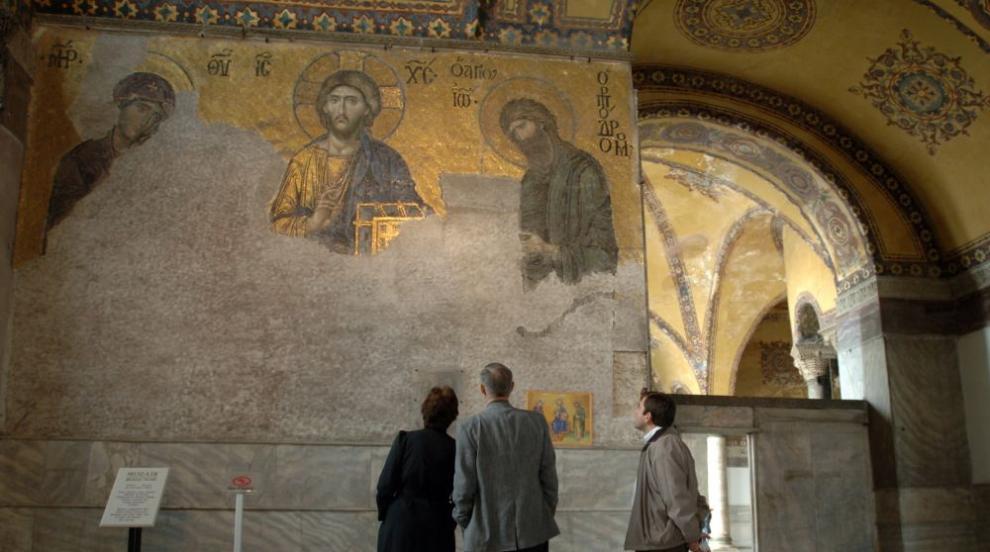 """Църквата """"Света София"""" в Истанбул може да бъде превърната в джамия"""