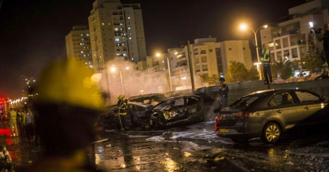 Шест души бяха ранени днес при ракетно нападение срещу Израел