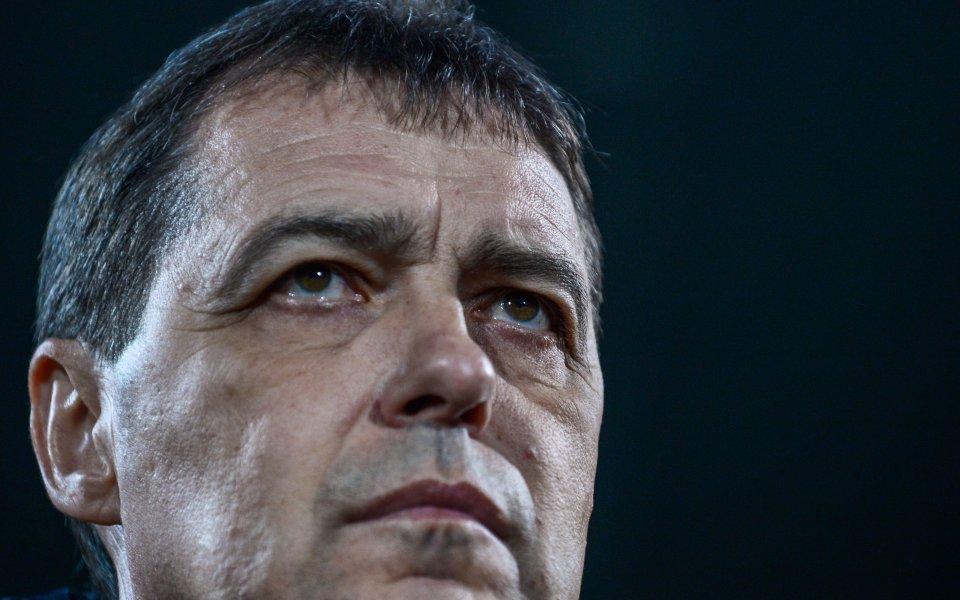 Петър Хубчев напуска националния отбор на България от 1 май,