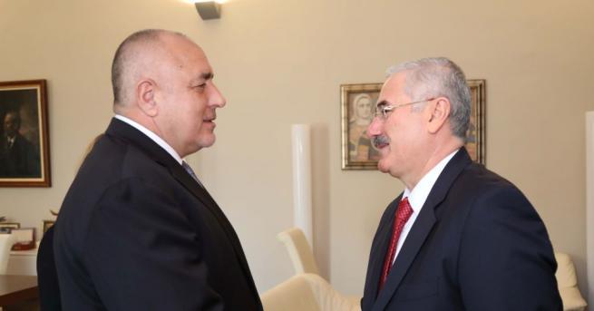 Премиерът Бойко Борисов се срещна с главния прокурор на Турция