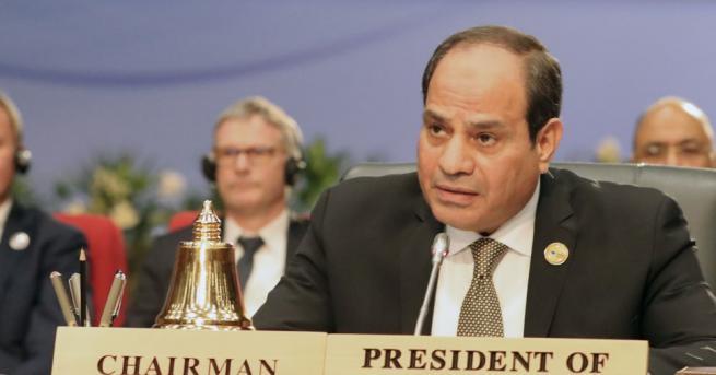 Президентът на Египет Абдел Фатах Ас-Сиси защити себе си и