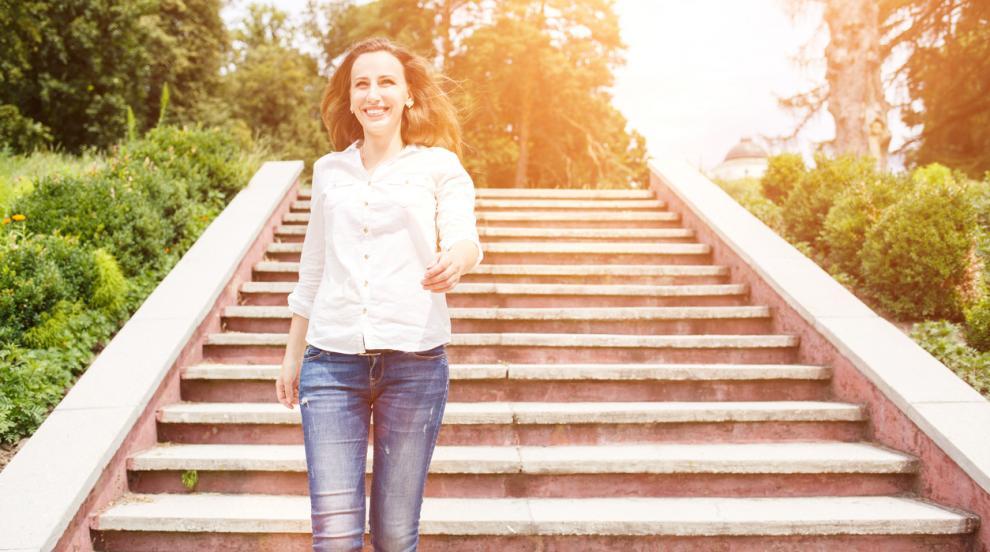 След менопаузата: Вървете по нанадолнище след хапване