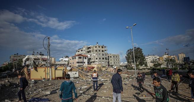Напрежението в Газа започна да спада тази сутрин след разменените