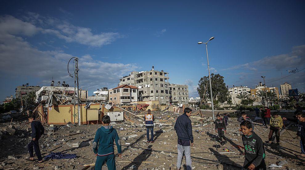 Напрежението в Газа спада след размяната на удари между Израел и Хамас